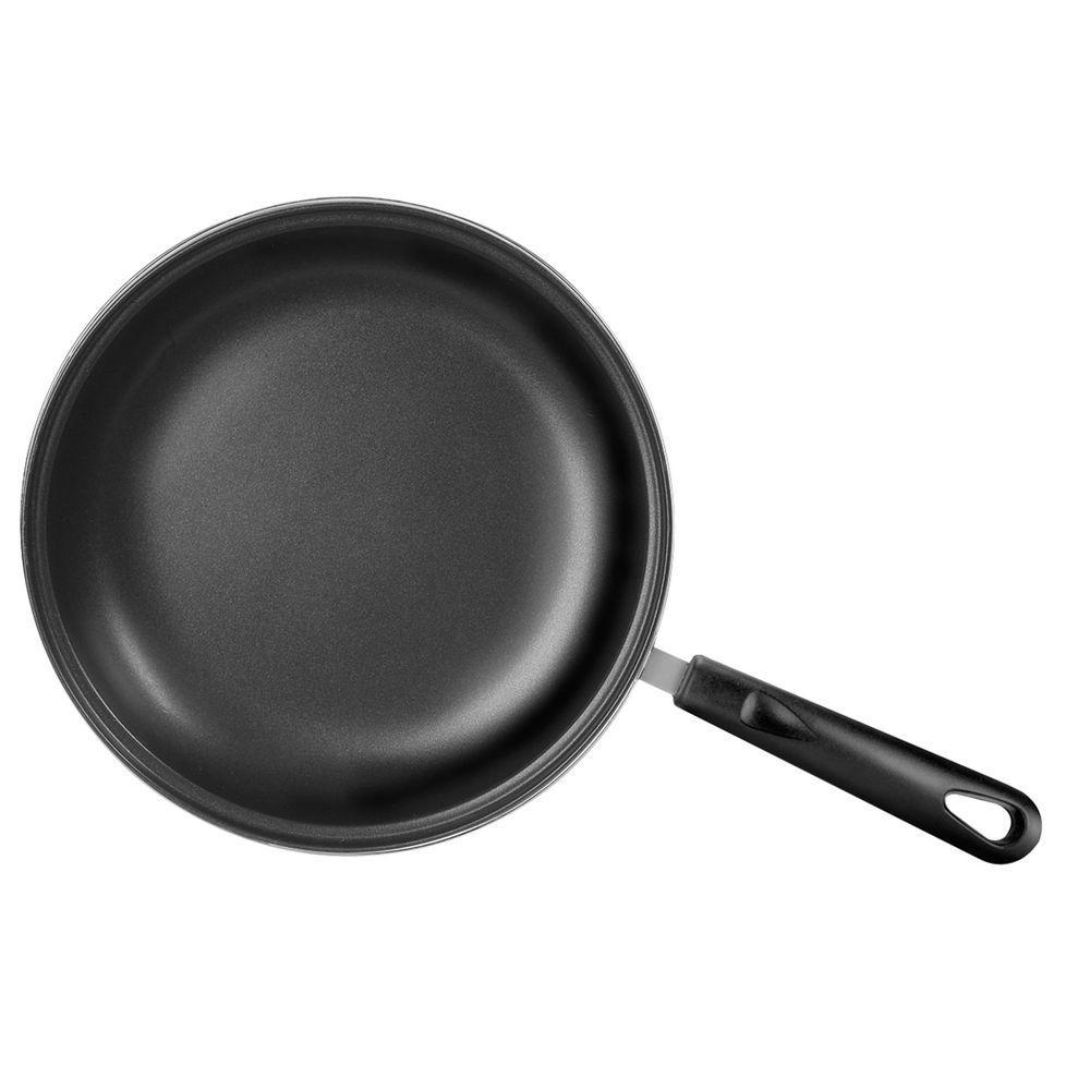 Range Kleen 10 in. Basics Non-Stick Fry Pan in Stainless Steel