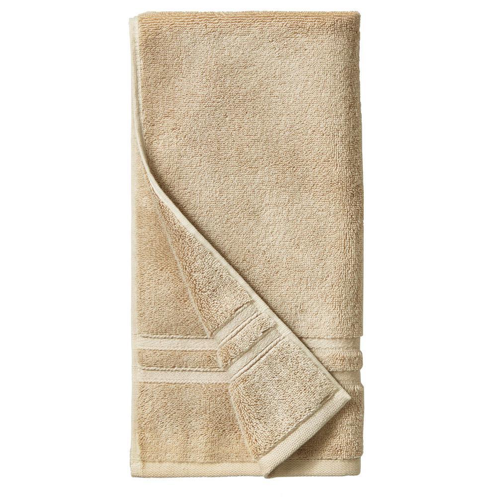 Turkish Cotton Ultra Soft Hand Towel in Khaki