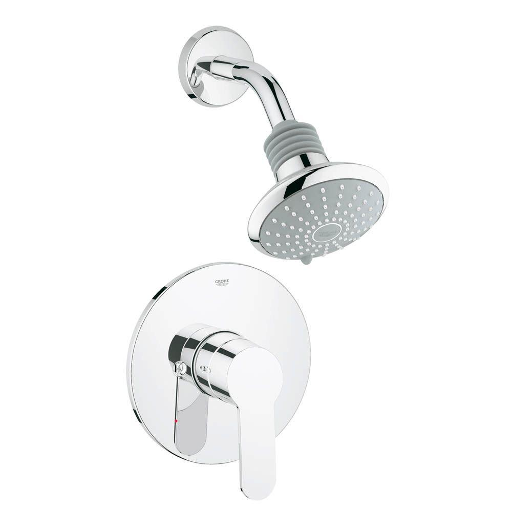 GROHE Eurostyle Cosmopolitan Shower Combination, PBV Trim in ...