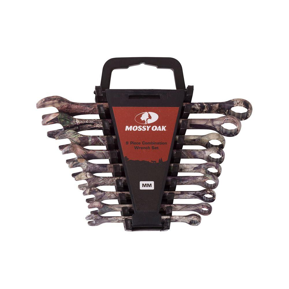 Metric Combination Wrench Set 9 Piece MTO1011 The Home