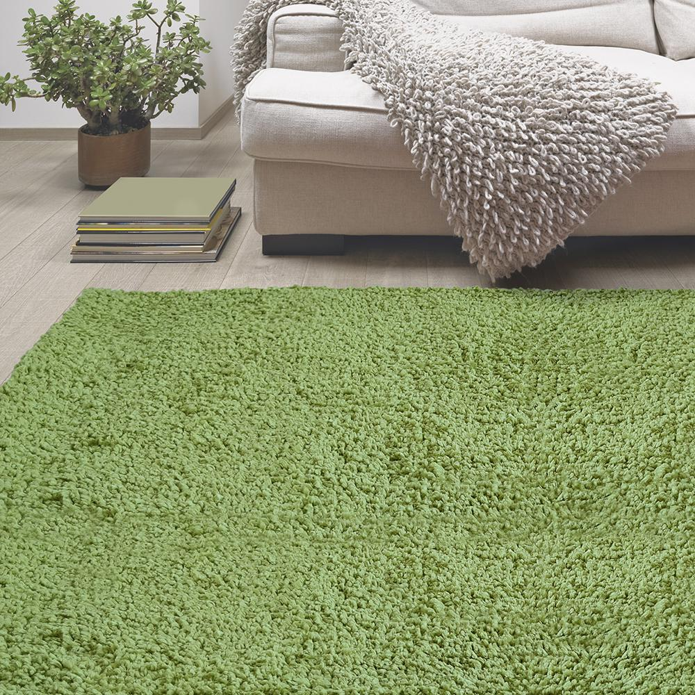 Lanart Palazzo Shag Apple 5 Ft. X 8 Ft. Area Rug