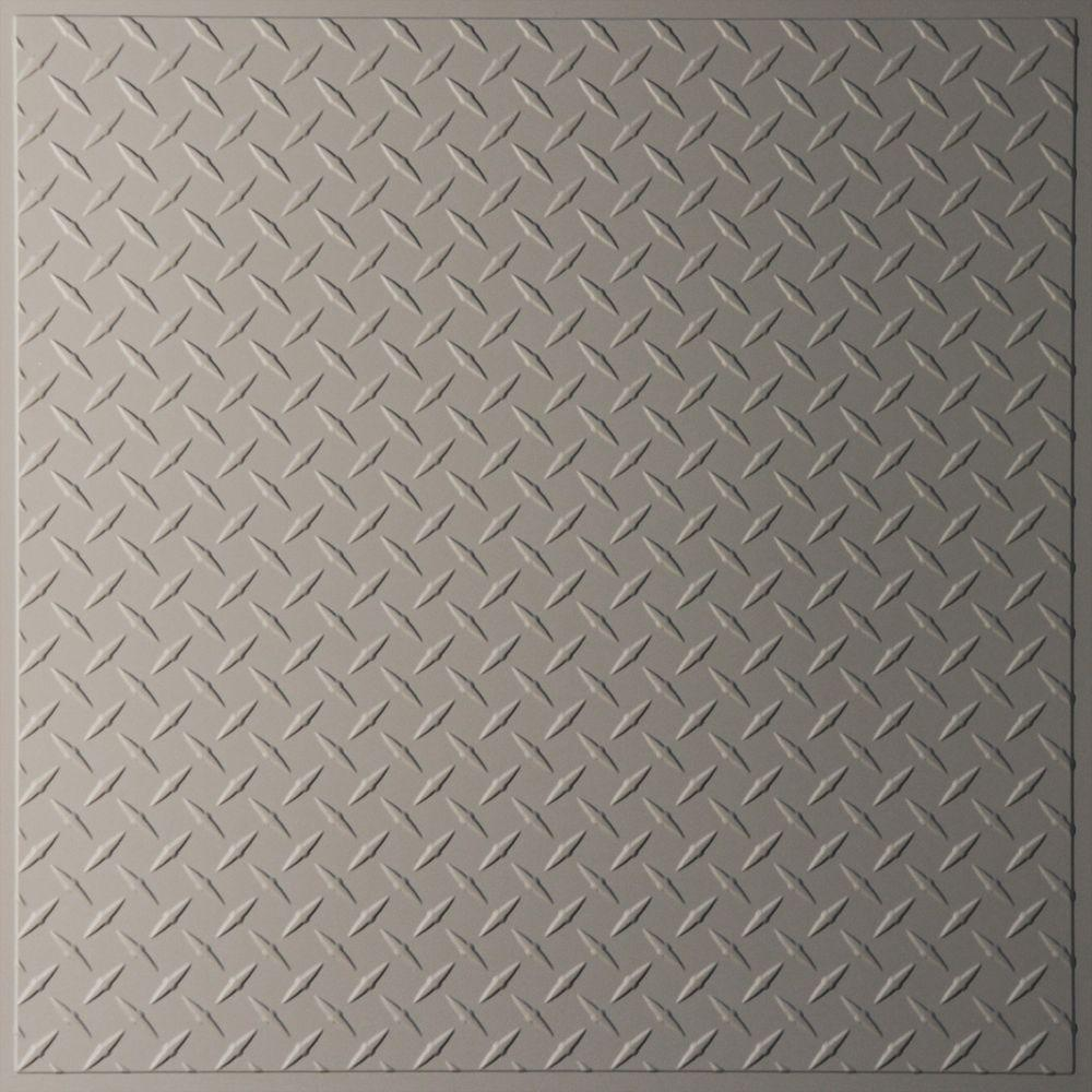Ceilume diamond plate latte 2 ft x 2 ft lay in or glue up ceilume diamond plate latte 2 ft x 2 ft lay in or glue up ceiling panel case of 6 v3 diamnd 22lao the home depot doublecrazyfo Gallery