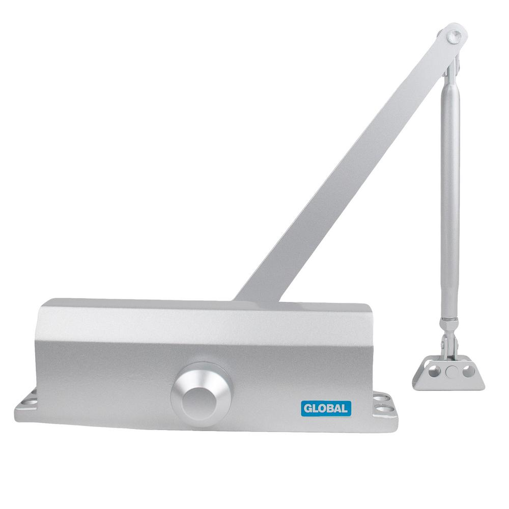 TC2200 Series White Size 3 Commercial Door Closer with Standard Arm