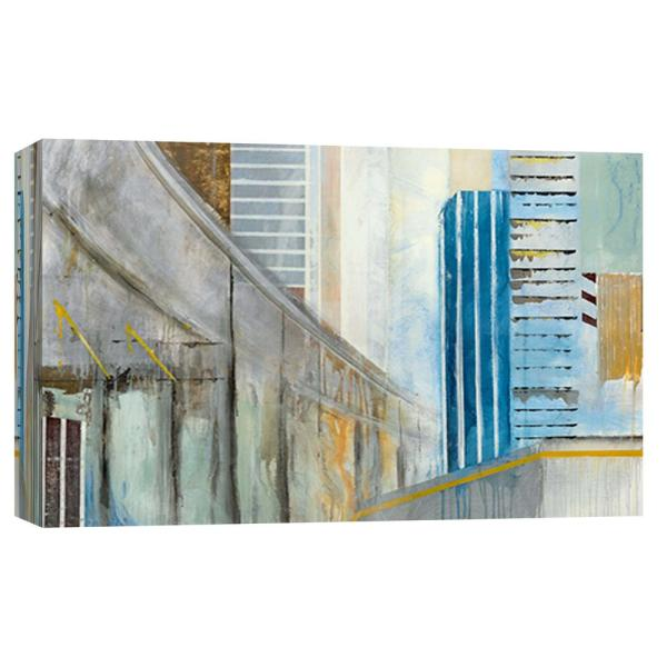 10 In X 12 In Overpass 1 Printed Canvas Wall Art