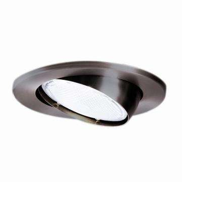 5070 Series 5 in. Tuscan Bronze Recessed Ceiling Light Trim with Adjustable Eyeball