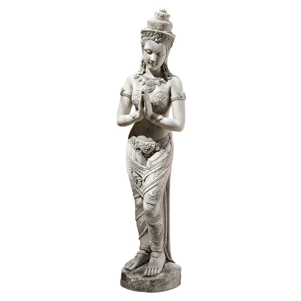 35 in. H Thai Teppanom Beautiful Being Medium Garden Statue
