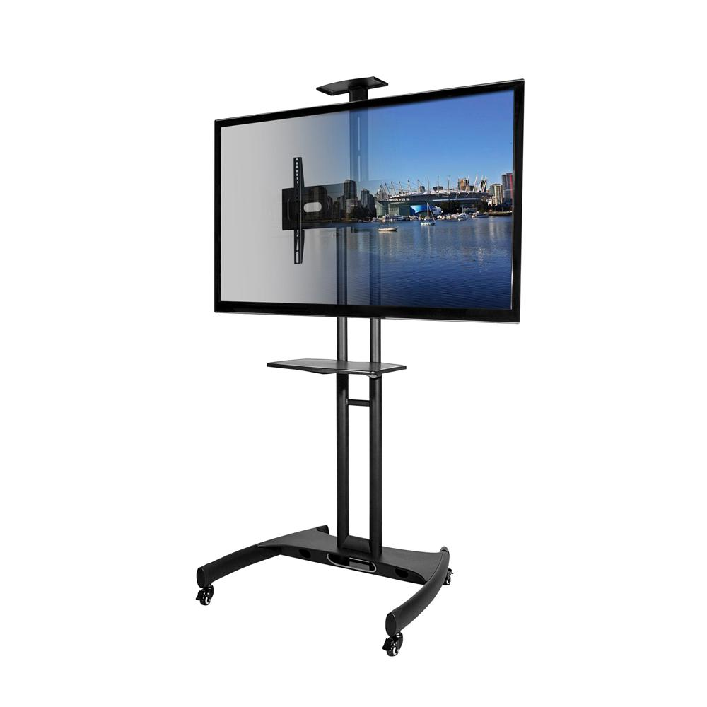 Kanto 37 in. to 65 in. Mobile TV Mount Plus, Black