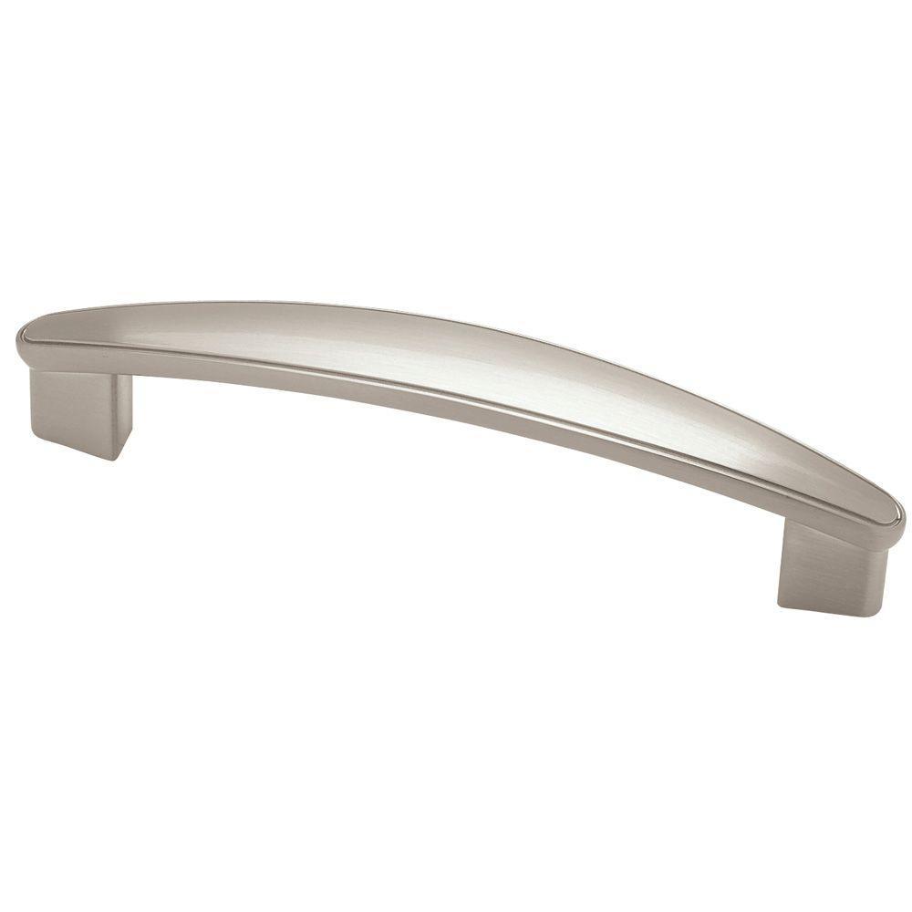 Liberty 3-3/4 in. (96mm) Satin Nickel Flat Drawer Pull-P45004C-SN-C ...