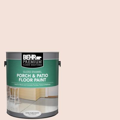 Behr Premium 1 Gal Rd W12 Soft Sunrise Gloss Enamel Interior Exterior Porch And Patio Floor Paint 670501 The Home Depot