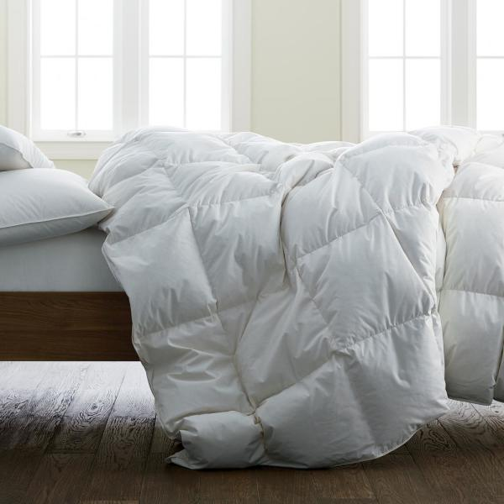 647ab2edd9 The Company Store Organic Cotton Ultra Warmth White Full Down Comforter
