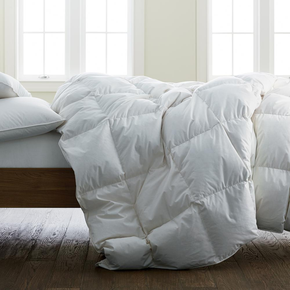 The Company Store Organic Cotton Ultra Warmth White King Down Comforter