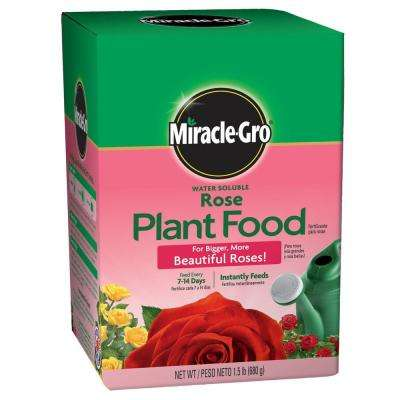 Water Soluble 1.5 lb. Rose Plant Food