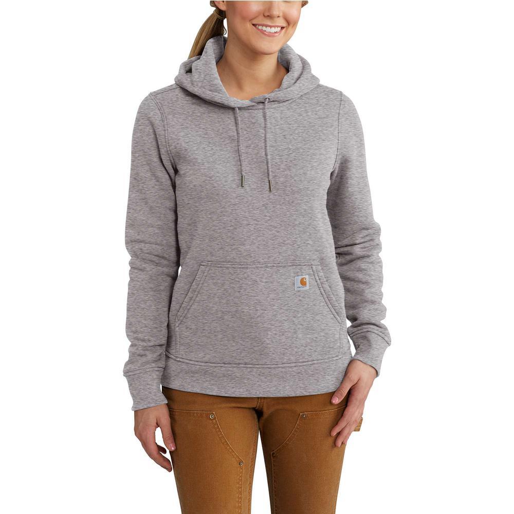 X Asphalt Clarksburg Pullover Sweat Cottonpolyester Shirt Carhartt Small Women's Heather EH9WD2I