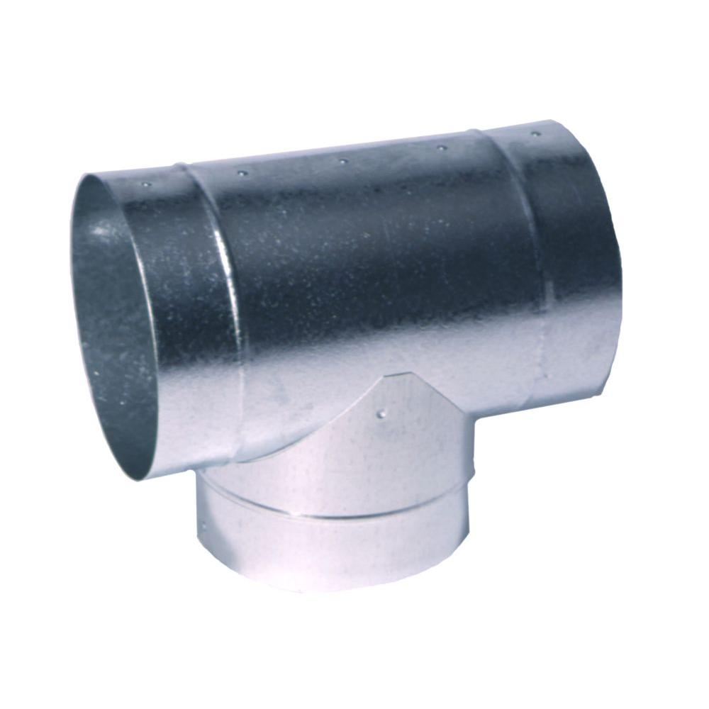 4 In Round Tee T4x4x4 The Home Depot