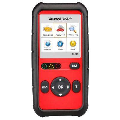 OBDII Scan Tool with Tech Tips and Auto VIN