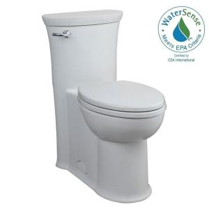 American Standard Tropic Tall Height 1-piece 1.28 GPF Single Flush Elongated Toilet in White by American Standard