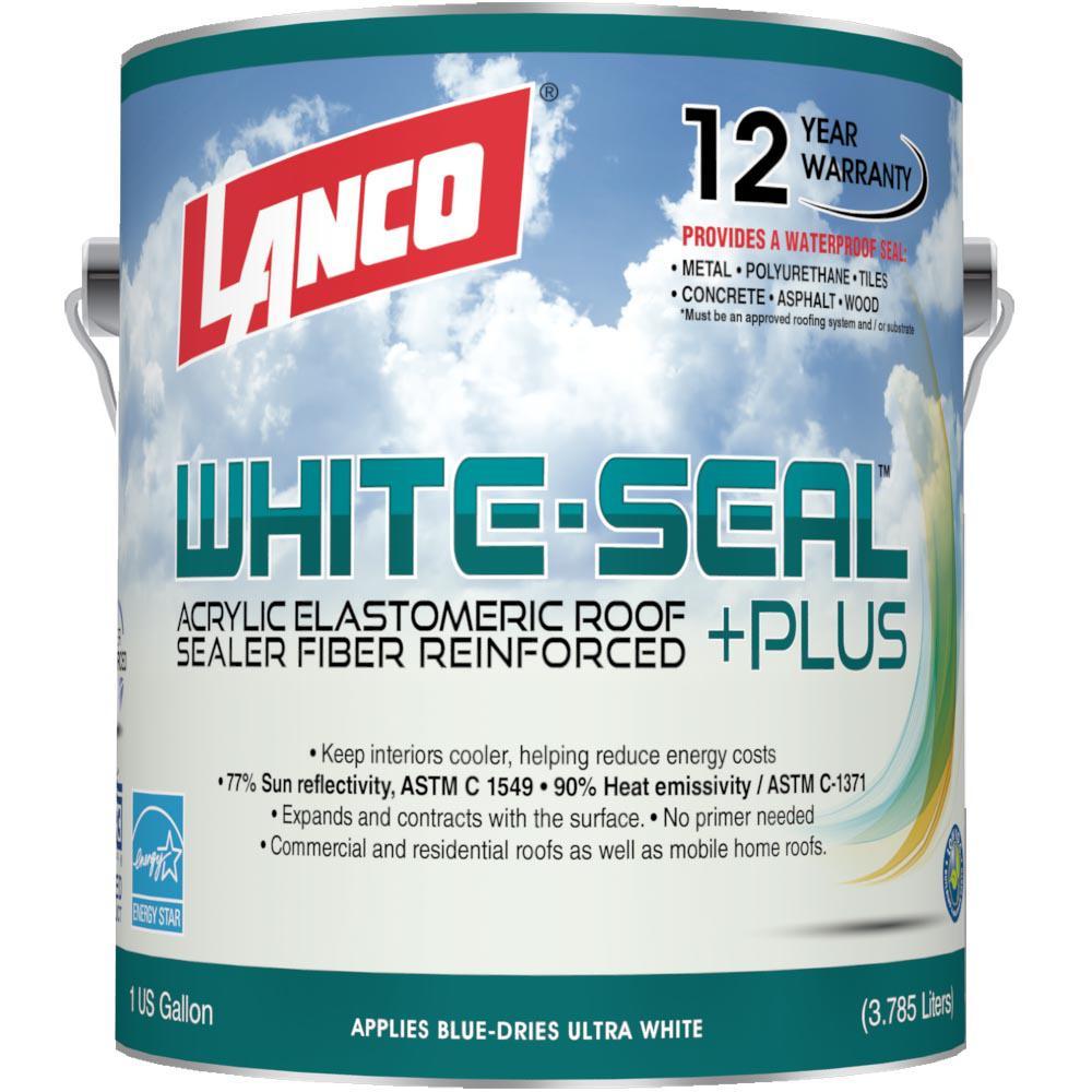 Lanco 1 gal. White Seal Plus Reflective Roof Coating