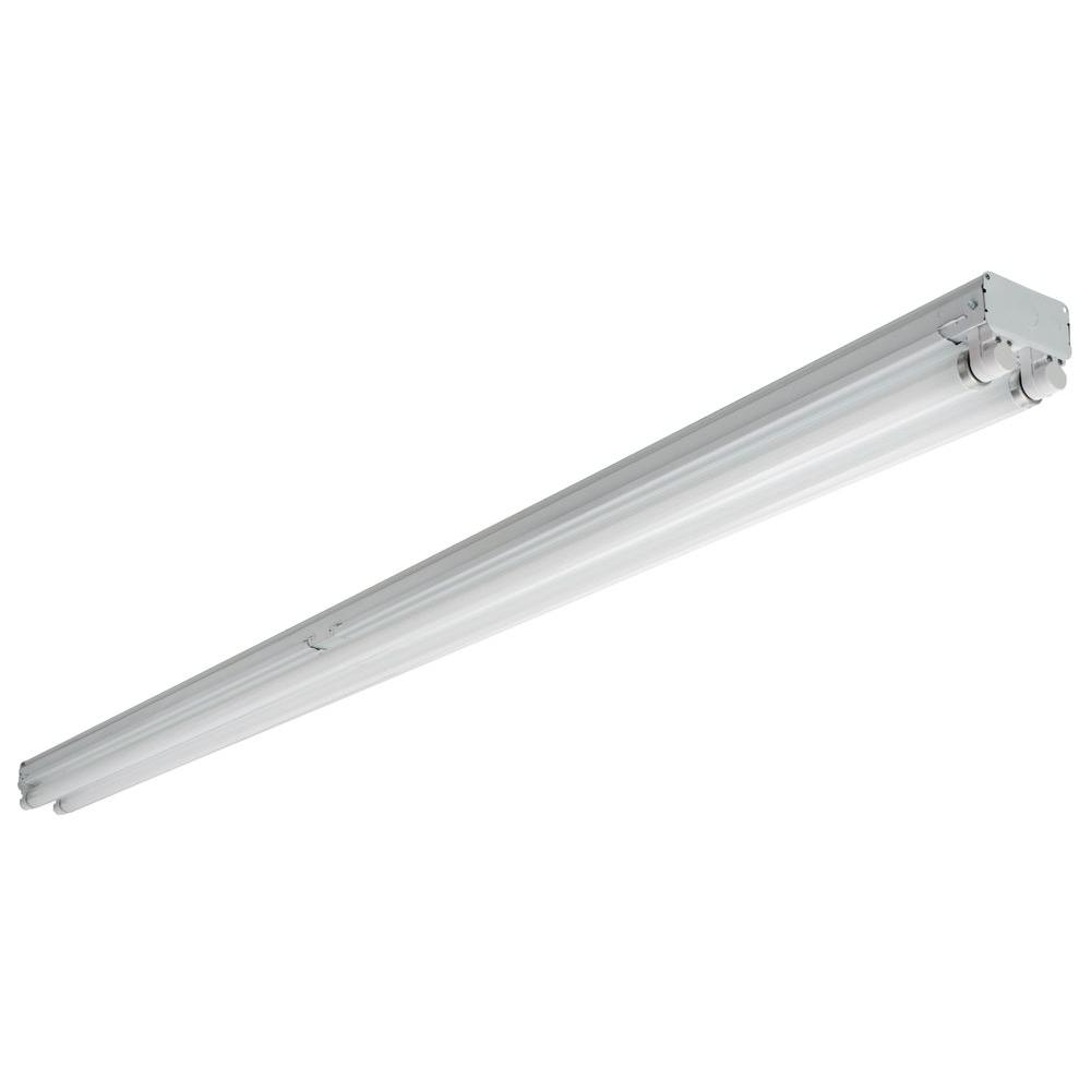 Lithonia Lighting 4 ft. T8 Fluorescent General Purpose Strip Light ...