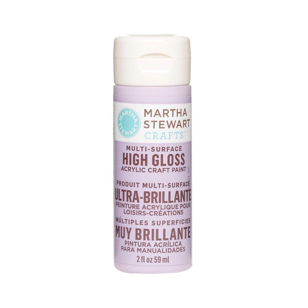 Martha Stewart Crafts 2-oz. Hydrangea Purple Multi-Surface High Gloss Acrylic Craft Paint