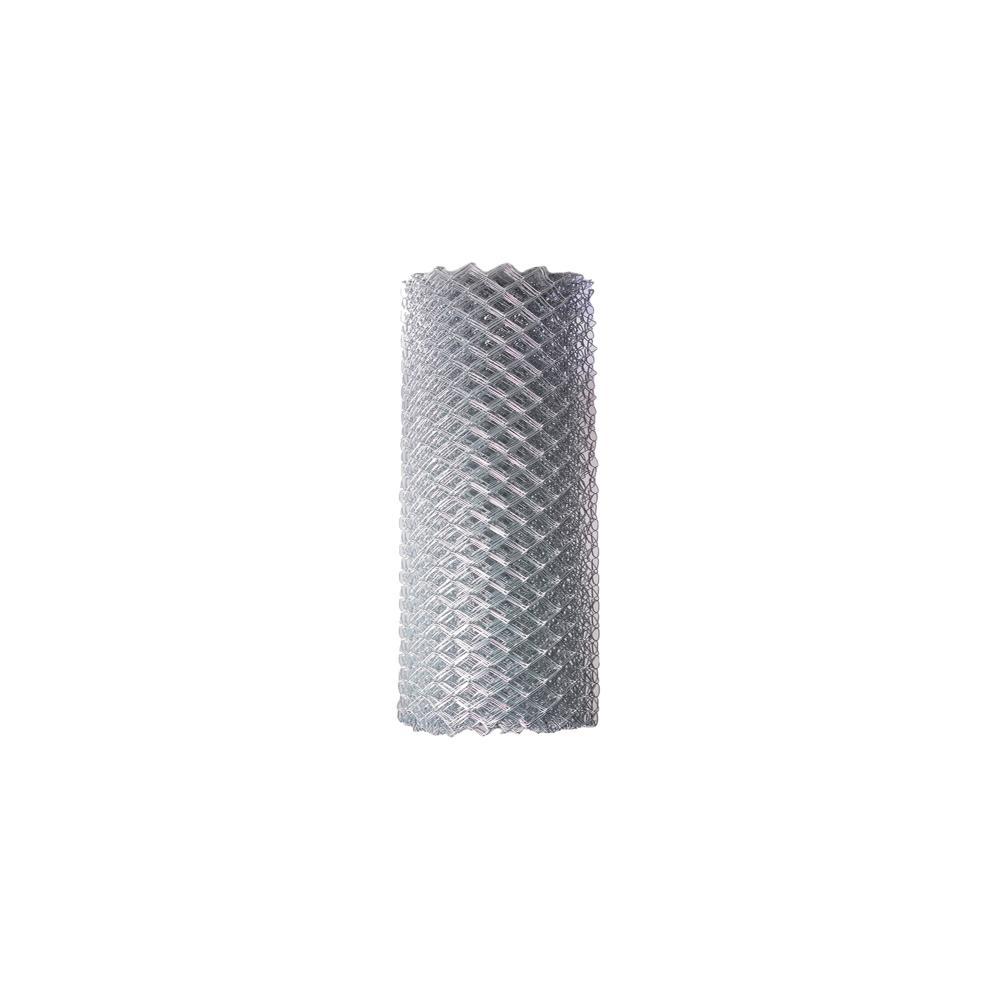4 ft. x 50 ft. 12.5-Gauge Galvanized Steel Chain Link Fabric