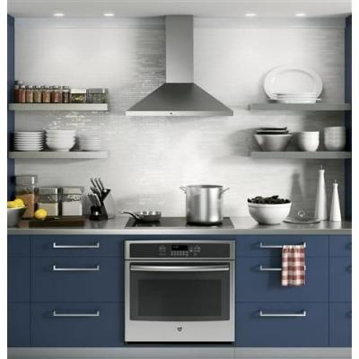 30 in. Convertible Wall-Mount Range Hood with Light in Stainless Steel