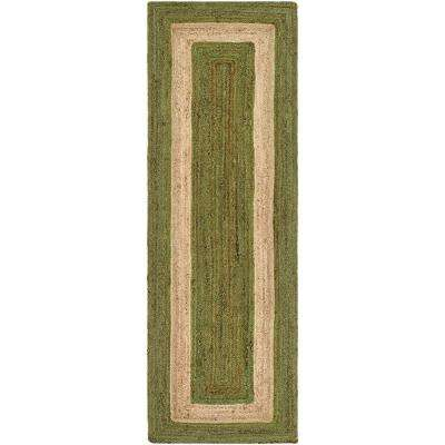 3 X 8 Jute Area Rugs Rugs The Home Depot