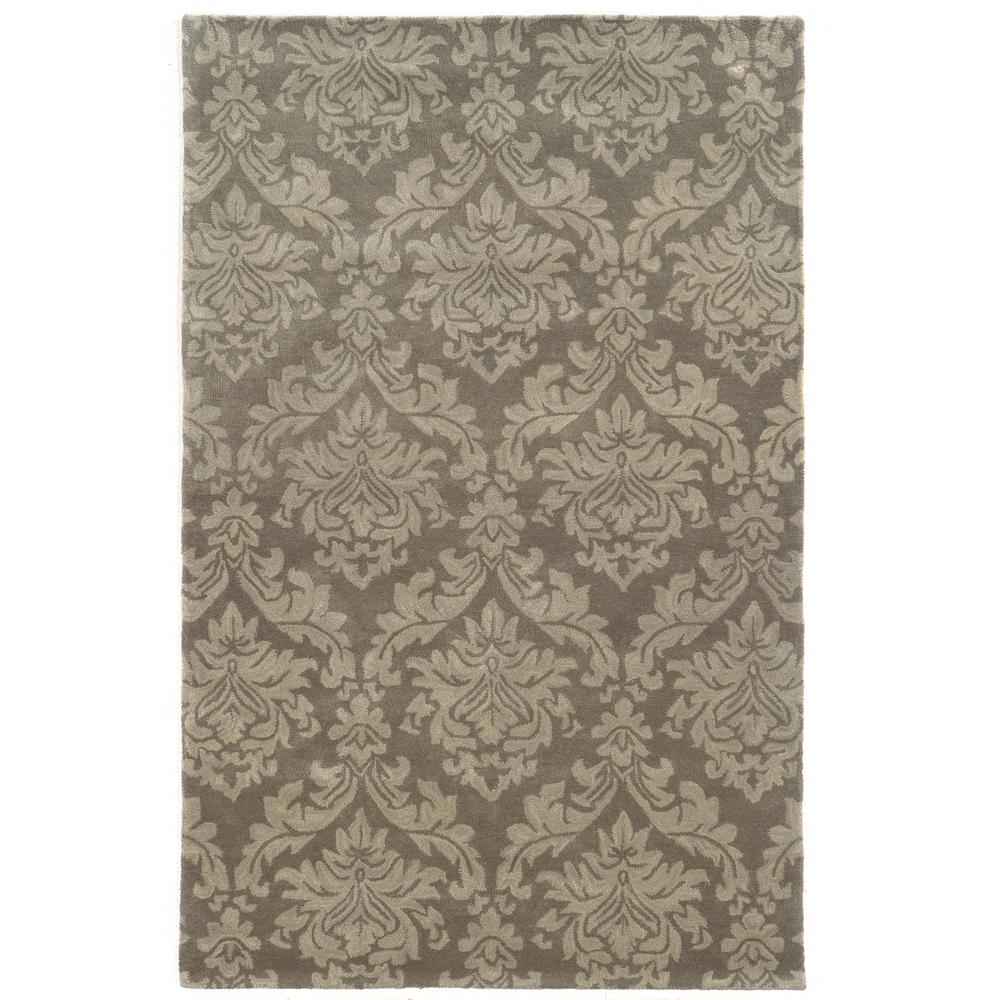 Rizzy Home Bradberry Downs Grey 2 ft. x 3 ft. Area Rug