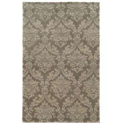 Bradberry Downs Grey 9 ft. x 12 ft. Area Rug