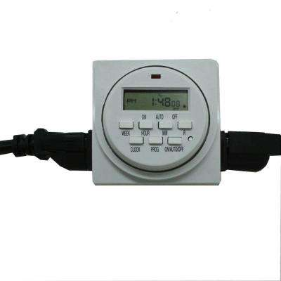 120-Volt Dual Outlet 24 Hour Digital Timer