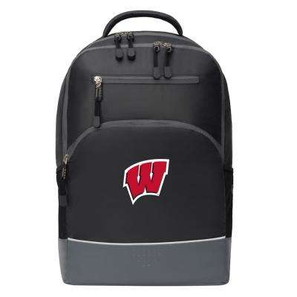 Wisconsin 19 in. Black Alliance Backpack