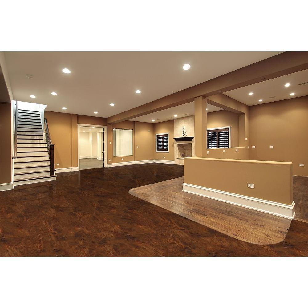 Oz Metallic Earth Brown Garage Floor