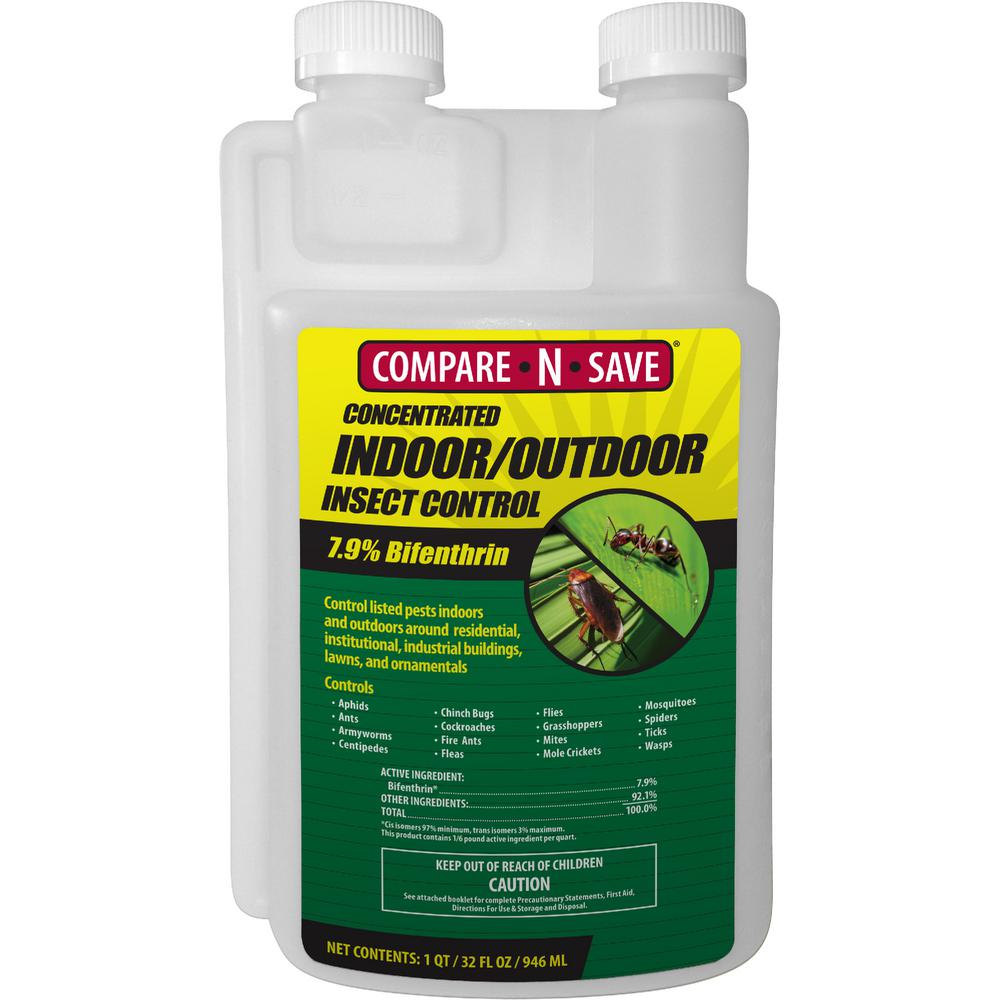 Compare N Save 32 Oz Indoor And Outdoor Insect Control 75366 The Home Depot