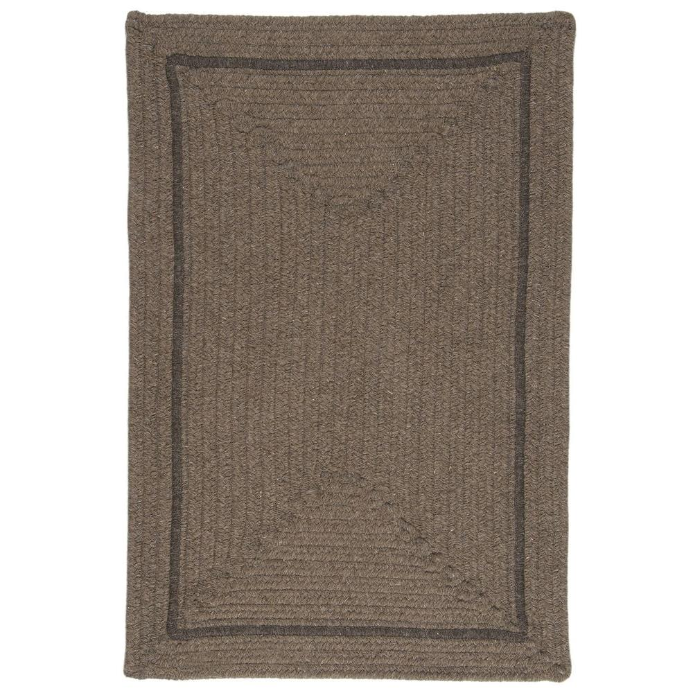 Home Decorators Collection Natural Mocha 10 ft. x 13 ft. Rectangle Braided Area Rug