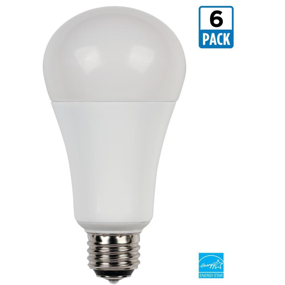 Westinghouse 30W/60W/100W Equivalent Soft White Omni A21 3-Way LED Light Bulb (6-Pack)