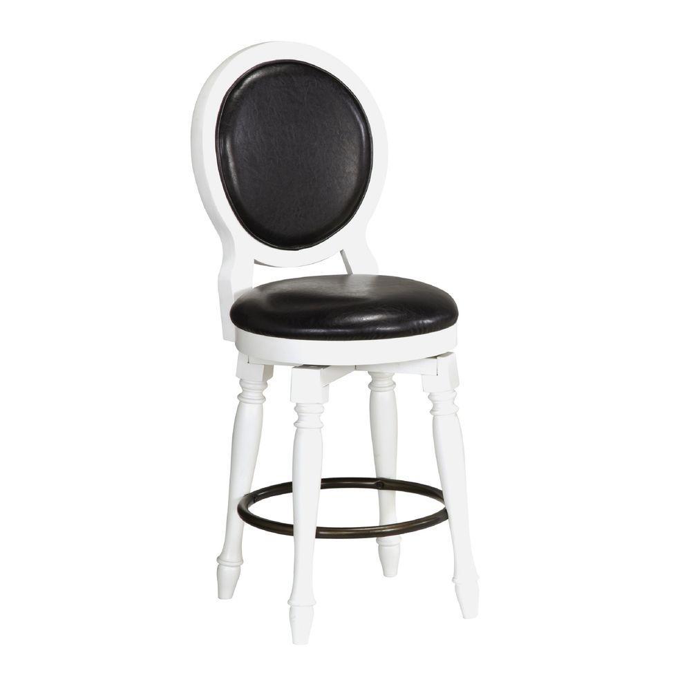 Home Styles Nantucket 25 in White Cushioned Bar Stool  : white home styles bar stools 5543 89 641000 from www.homedepot.com size 1000 x 1000 jpeg 31kB