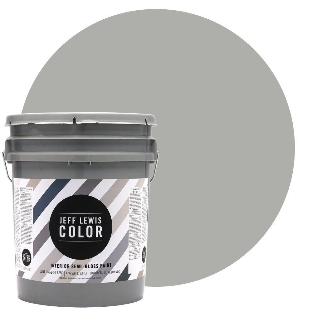 5-gal. #JLC413 Dusk Quarter-Gloss Ultra-Low VOC Interior Paint