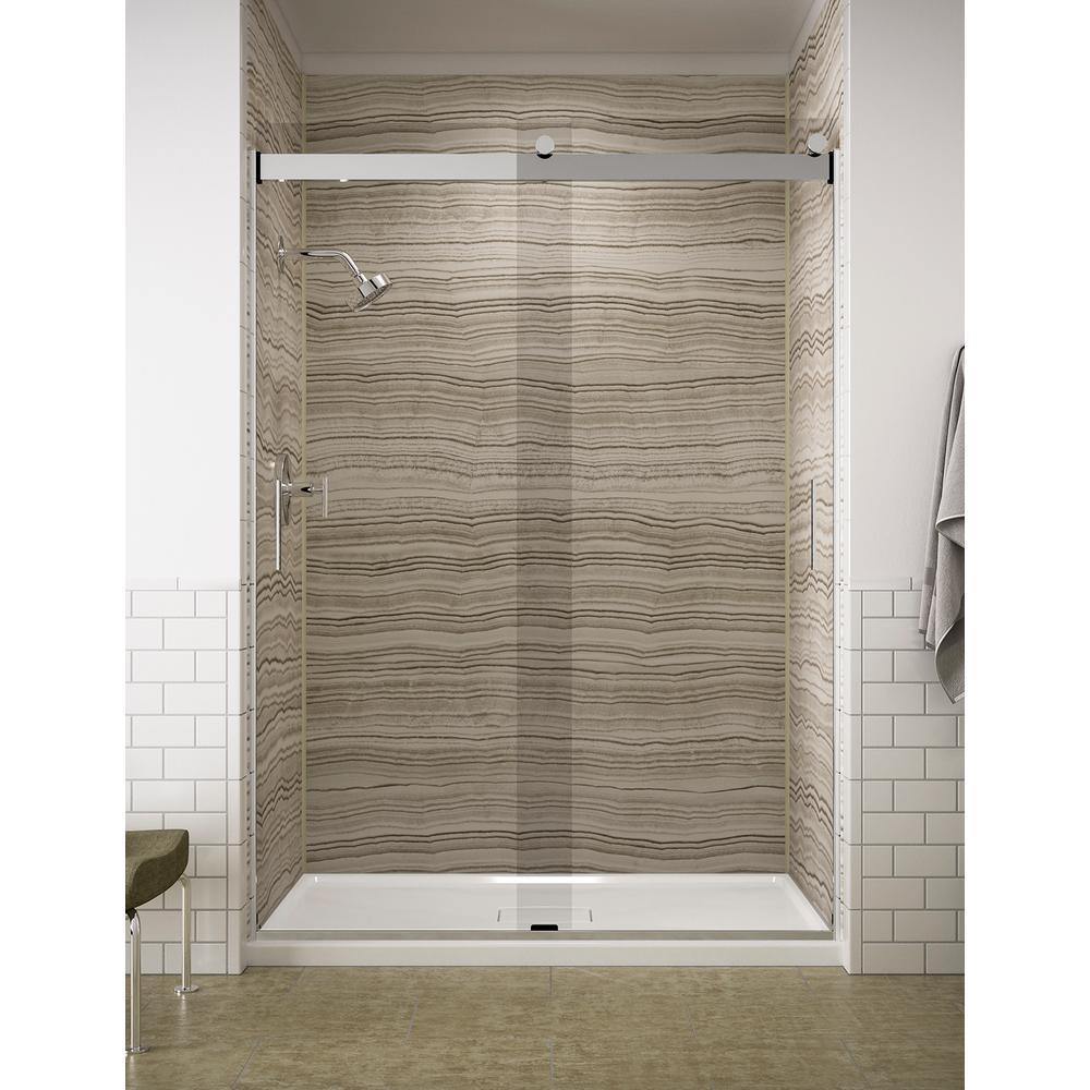 Kohler Levity 59 In X 82 In Frameless Sliding Shower
