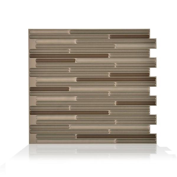 Smart Tiles Loft Maronne 10.20 in. W x 9.10 in. H