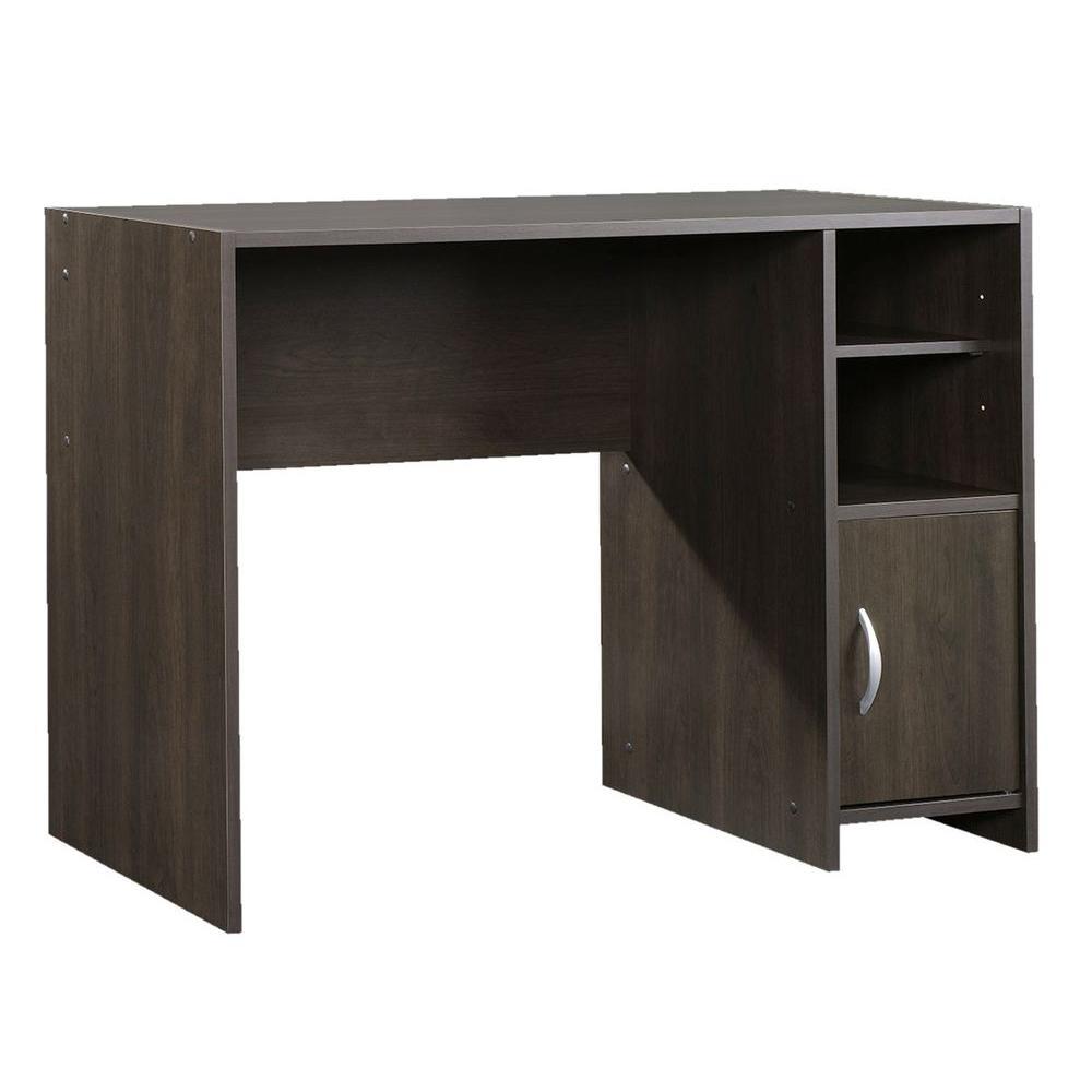 Sauder Beginnings Cinnamon Cherry Desk With Storage 415817