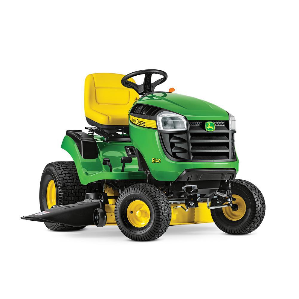 John Deere E140 48 in. 22 HP V-Twin Gas Hydrostatic Lawn ...