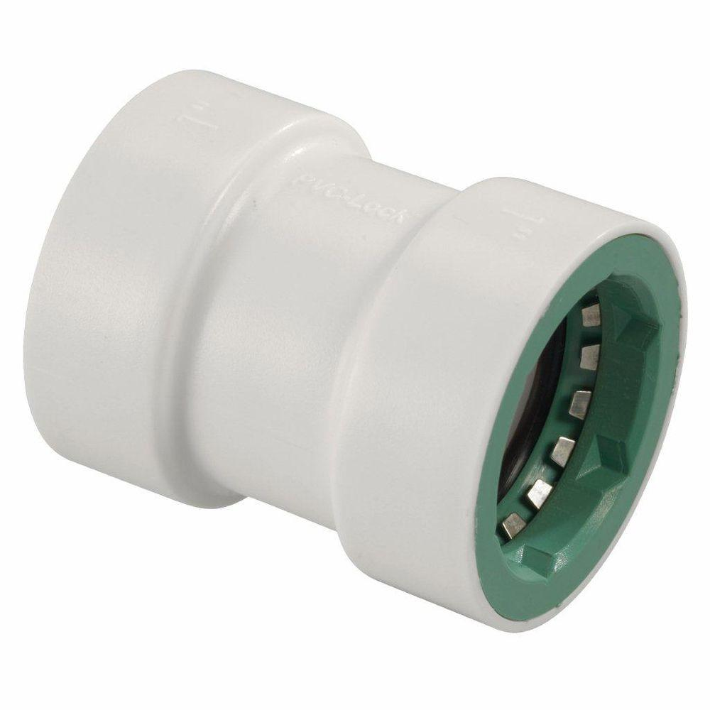 Orbit 1 in. PVC-Lock Coupling-38676 - The Home Depot