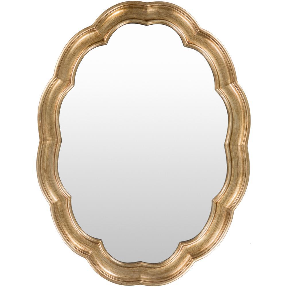 Garnis 30 in. x 40 in. Polyurethane Framed Mirror