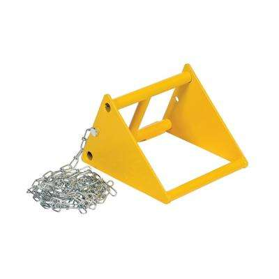 Fabricated Steel Wheel Chock 10 in.
