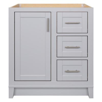 Kinghurst 30 in. W x 21 in. D x 33.5 in. H Bathroom Vanity Cabinet Only in Dove Gray