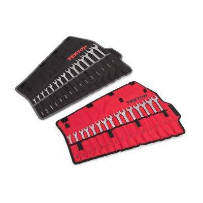 1/4-1 in., 8 mm-22 mm Set with Pouch Combination Wrench (30-Piece)