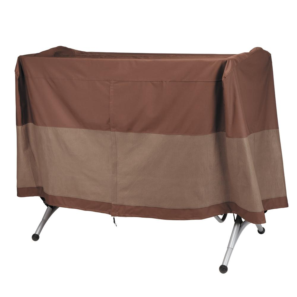 Ultimate 80 in. W x 60 in. D x 58 in. H Canopy Swing Cover  sc 1 st  The Home Depot & Duck Covers Ultimate 80 in. W x 60 in. D x 58 in. H Canopy Swing ...