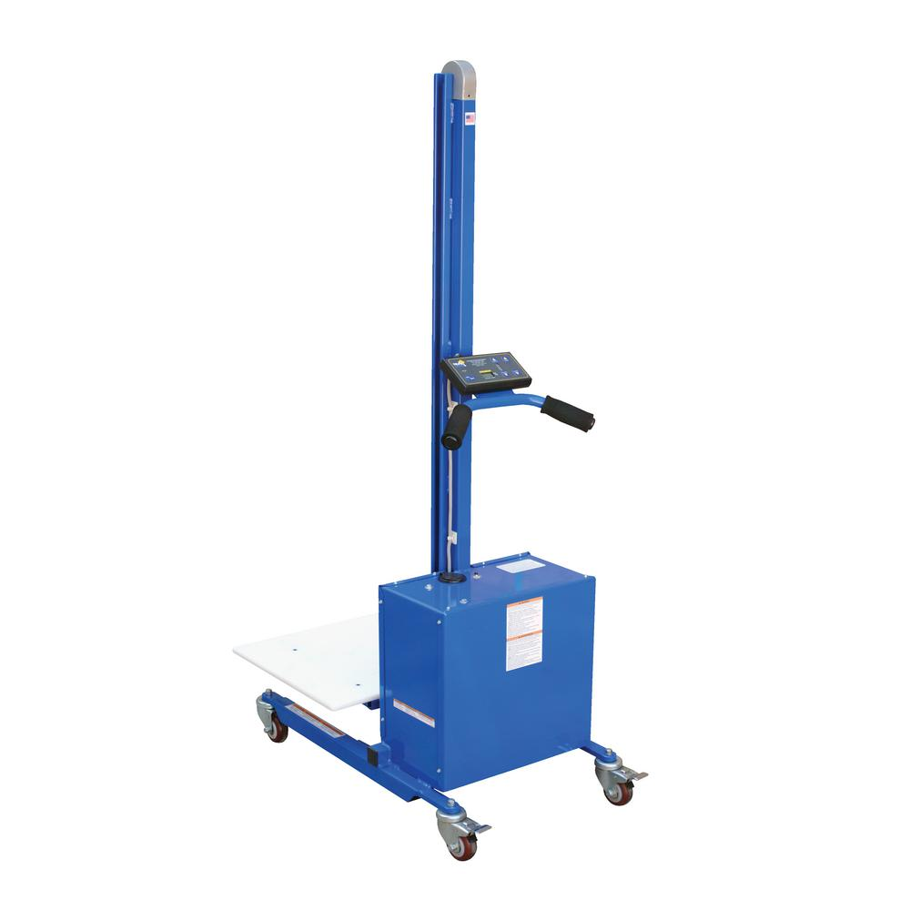 175 lb. Capacity 57 in. Tall DC Powered Steel Quick-Lift