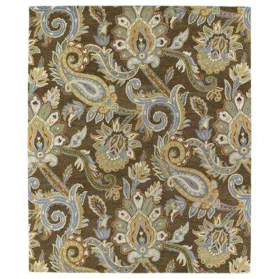 Helena Brown 12 ft. x 15 ft. Area Rug