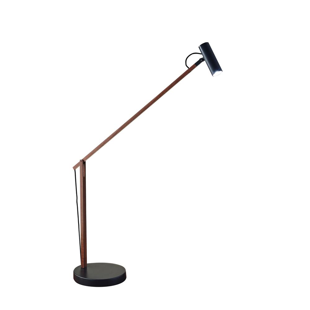 ADS360 Crane 32 in. Integrated LED Black Desk Lamp