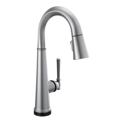 Emmeline Single-Handle Bar Faucet with Touch2O in Lumicoat Arctic Stainless